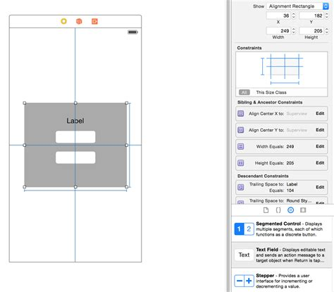 auto layout tutorial xcode 6 objective c ios how to apply auto layout to a group of items in xcode