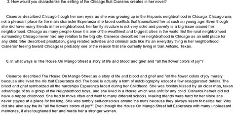 The House On Mango Essay by The House On Mango Essay At Essaypedia
