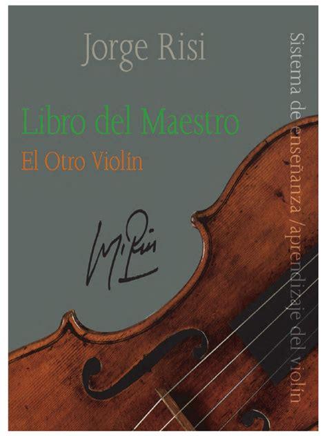 libro violin el otro violin libro del maestro pdf