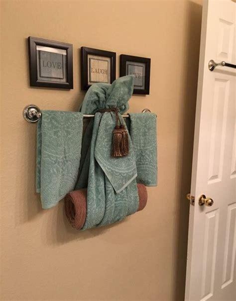 towel decorating ideas 33 best bathroom towels display images on bathroom bathroom ideas and bathrooms decor