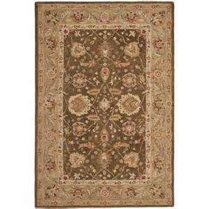 Lowes Area Rugs Clearance Shop Safavieh Anatolia Rectangular Brown Transitional Tufted Wool Area Rug Common 8 Ft X 10 Ft