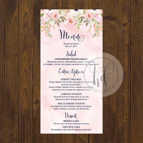 Wedding Menu Stations 01 | hadley designs menus