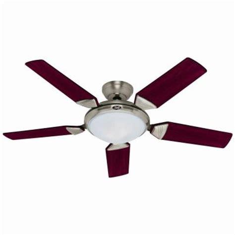 ergonomic 56 in brushed nickel ceiling fan