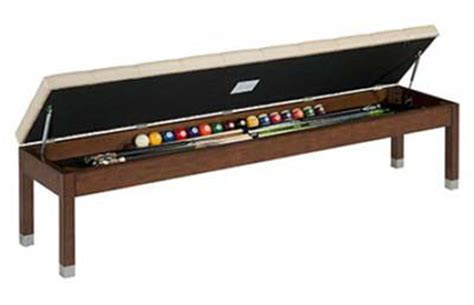 pool storage bench storage benches chests archives billiards n more