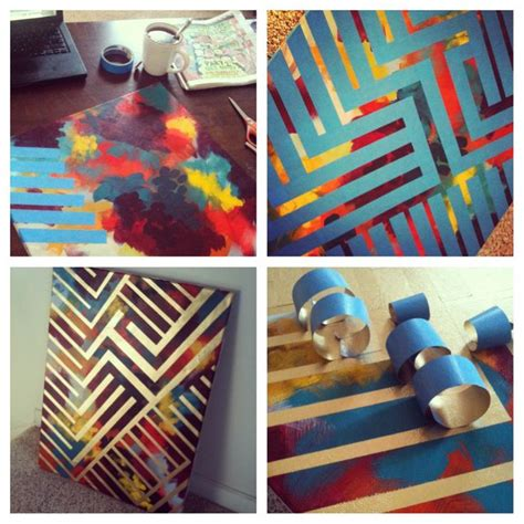 Spray Paint Design Ideas by 25 Best Ideas About Spray Paint Canvas On Spray Paint Diy Decor Canvas Crafts And