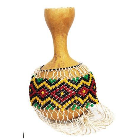 beaded gourd instrument shekere djabara gourd with bead net