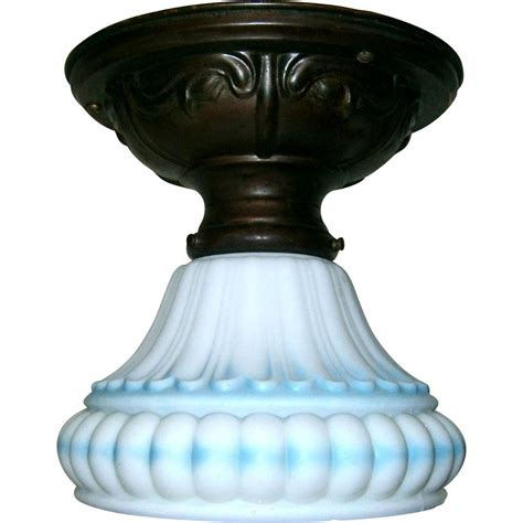 vintage flush mount ceiling light fixture from