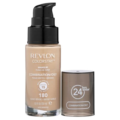 Revlon Colorstay Foundation Skin revlon colorstay makeup foundation for combination