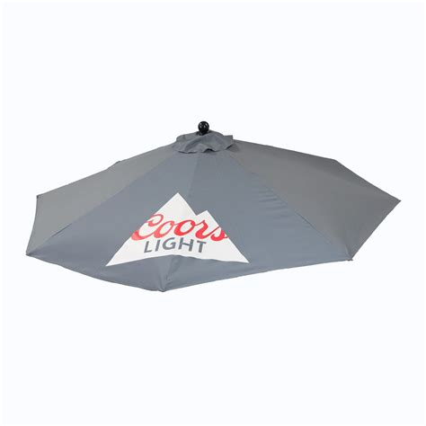 bud light patio umbrella coors light patio umbrella