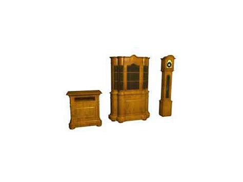 furniture set home furnishings house fittings 3ds 3d
