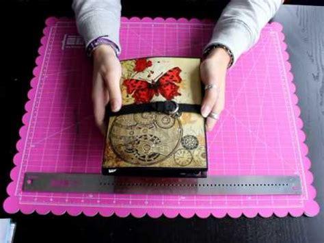 scrapbooking tutorial fotofolio diy tutorial mini album gorjuss idea para regalar doovi