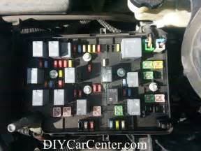 fuse box location designation list for chevrolet cobalt pontiac g5 diy car center