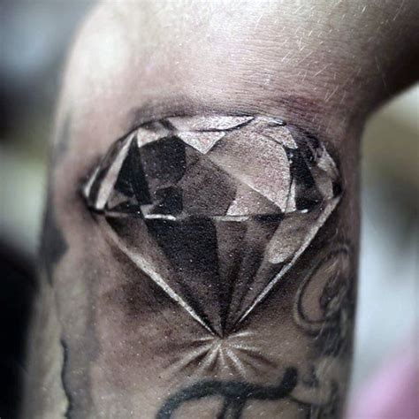 diamond tattoo on arm 70 diamond tattoo designs for men precious stone ink