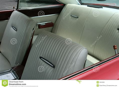vintage car upholstery vintage car interior stock photo image 2653260