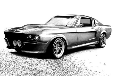 Mustang Auto Zeichnen by Shelby Mustang Gt500 By Autodrawings Deviantart On