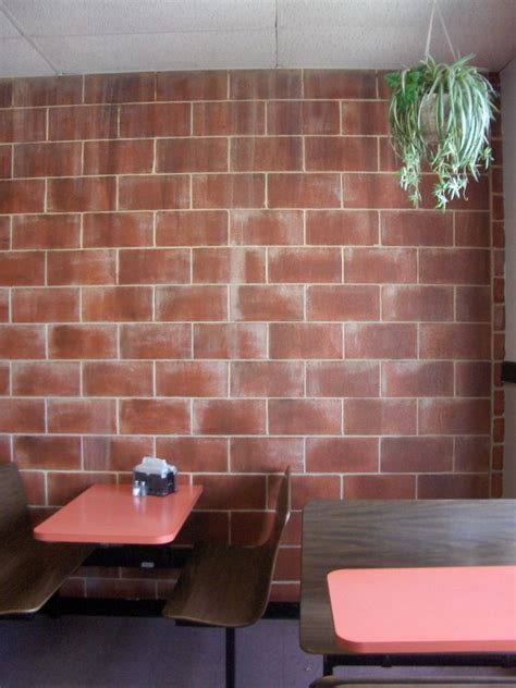 how i painted faux brick walls in the mancave faux brick wall painting tips how to build a house