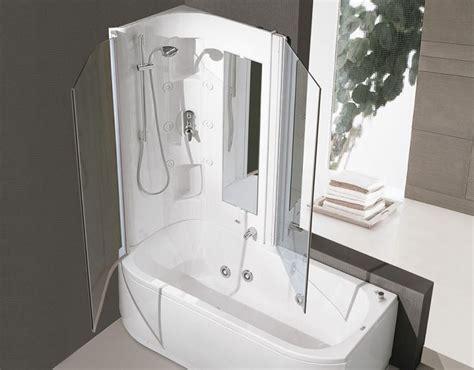 vasche da bagno con doccia incorporata vasca con doccia integrata come scegliere vasche da bagno