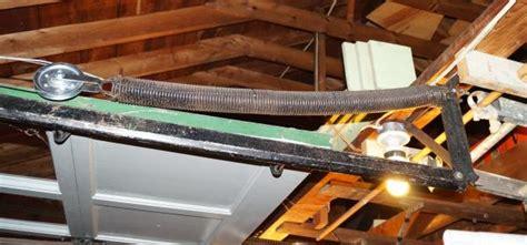 replace garage door extension replacing garage door extension springs stretch
