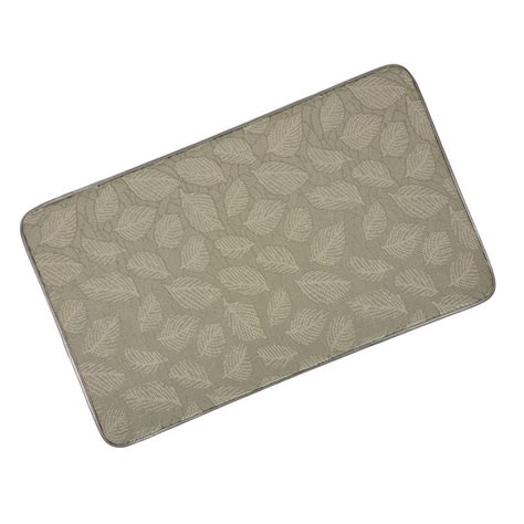Floor Mats For Kitchen Memory Foam Anti Fatigue Comfort Home Kitchen Floor Mat 76x46cm