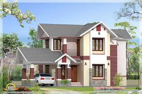 modern 3 bedroom kerala home elevation 1680 sq ft