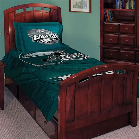 eagles bed set philadelphia eagles nfl twin comforter set 63 quot x 86 quot