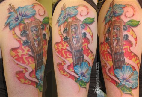 ukulele tattoo ukulele picture