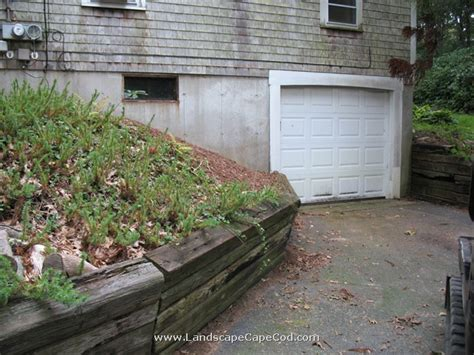 Landscape Timbers Cape Cod Viewing Album Landscape Timber Retaining Wall