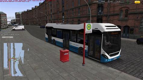 omsi  hamburg hafencity  bus virtual volvo  hybrid bus linie  youtube