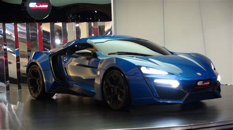 lincoln hypersport blue lykan hypersport at al ain class motors in dubai