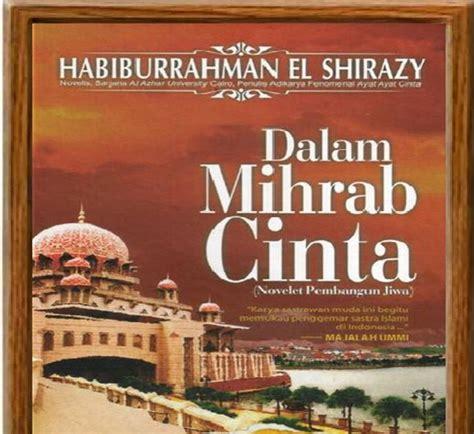 Bumi Cinta Habiburrahman El Shirazy 1 min jangka buya novel islami dalam mihrab cinta