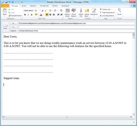 outlook 2013 email template how to create email templates in microsoft outlook