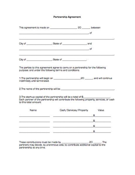 small business investment agreement template 10 investment contract