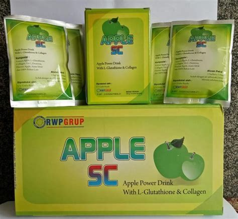 Jual Rwp Apple Stem Cell Plus With Collagen L Glutathione jual apple stem cell plus murah 800 ribuan dus cara bisnis