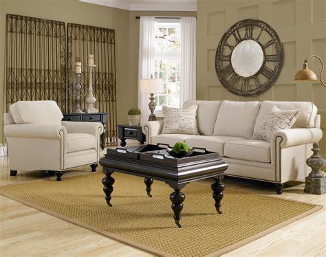 broyhill living room broyhill furniture harrison stationary living room group