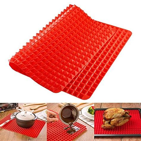 10 x 15 5 silicone baking mat silicone baking mat pyramid pan surface non stick heat
