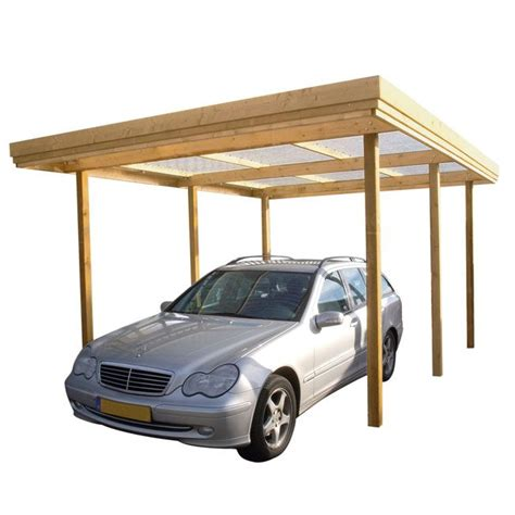 Building A Car Port by Carport Garage Plans How To Build A Wooden Carport