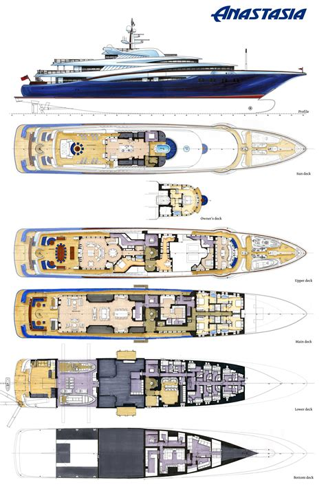 layout yacht layout plans image gallery luxury yacht browser by