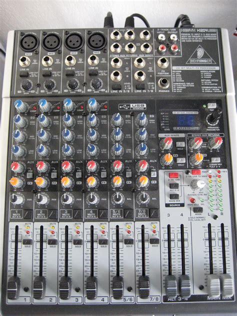 Mixer Xenyx 1204 behringer xenyx 1204usb image 238484 audiofanzine