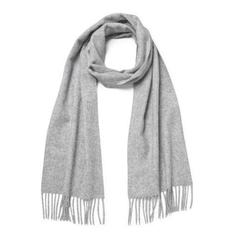 Light Grey Jeans Knutsford Cashmere Scarf Light Grey Free Uk Delivery
