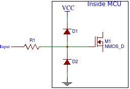 do resistors limit current using current limiting resistors on avr i o pins do it