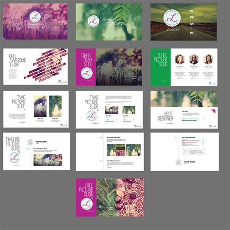 Modern Upmarket Powerpoint Design For Nani Courten By Dynamic Presentation Ideas