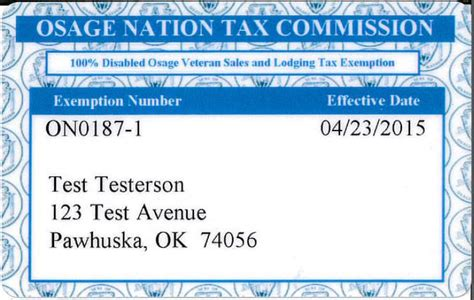 Gift Card Sales Tax - sales and lodging tax exemption cards now available for disabled veterans