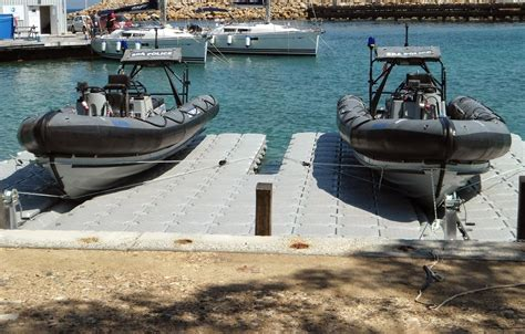 drive on boat dock systems versadock drive on dock systems at seawork clearline