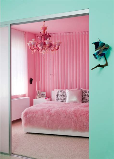 teal and red bedroom aqua and pink interiors panda s house