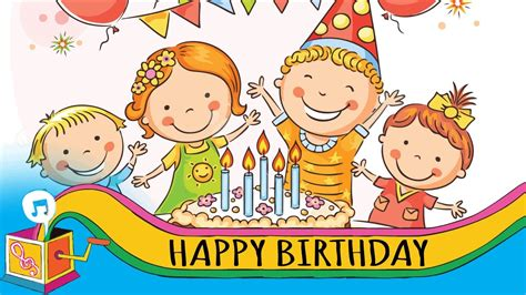 Open Clip Happy Birthday by Happy Birthday Song Clipart 101 Clip
