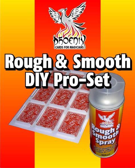 diy pro phoenix rough smooth diy pro set close up magicshop
