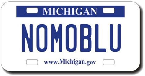 personalized michigan license plate for bicycles kid s