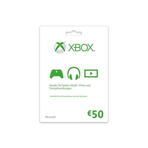 Xbox 50 Gift Card Online Game Code - xbox gift card 50 euro