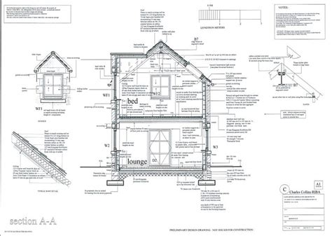 Dormer Window Section Lancaster Associates Chartered Architects Residential