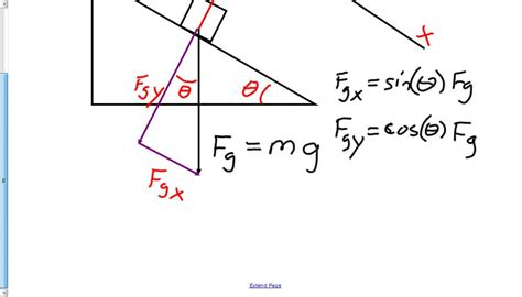 physics incline ap physics 1 ch 4 inclined plane forces with friction and